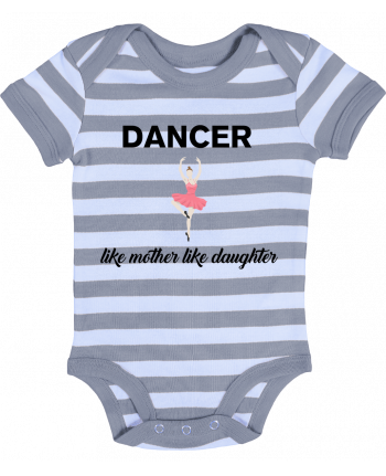 Baby Body striped Dancer like mother like daughter - tunetoo