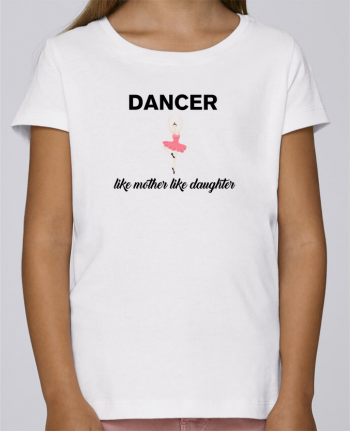 T-shirt Women Stella Draws Dancer like mother like daughter by tunetoo
