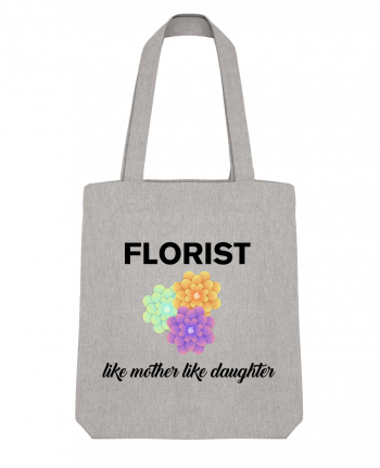 Tote Bag Stanley Stella Florist like mother like daughter by tunetoo