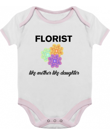 Baby Body Contrast Florist like mother like daughter by tunetoo