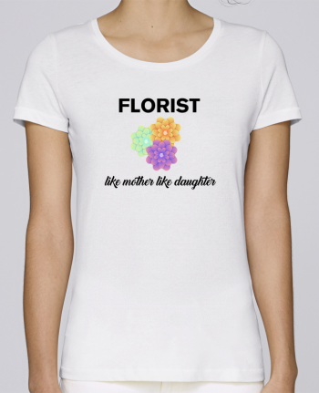 T-shirt Women Stella Loves Florist like mother like daughter by tunetoo