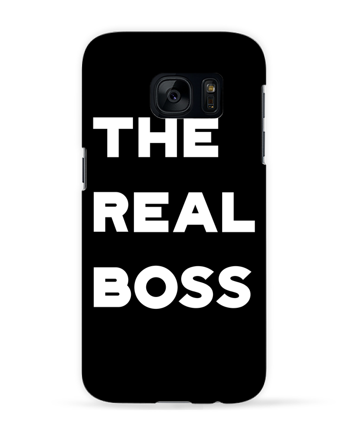 Case 3D Samsung Galaxy S7 The real boss by Original t-shirt