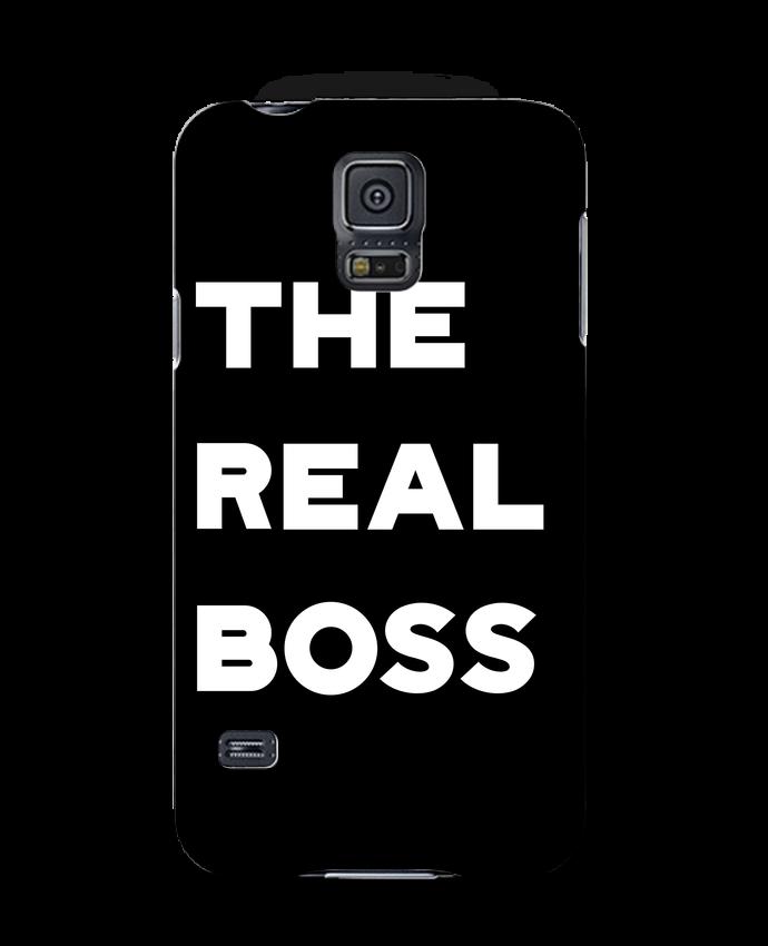 Case 3D Samsung Galaxy S5 The real boss by Original t-shirt