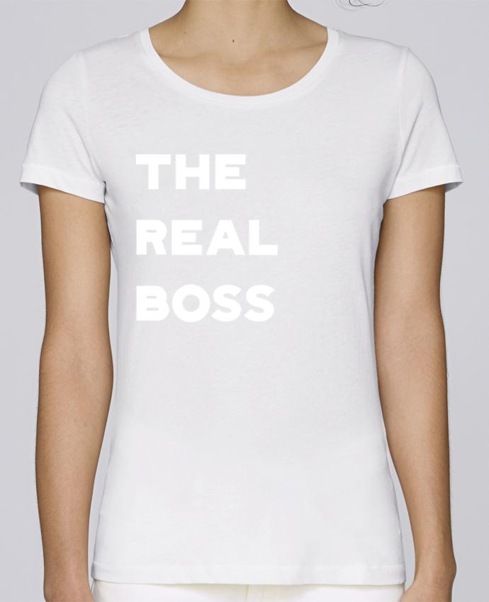 T-shirt Women Stella Loves The real boss by Original t-shirt