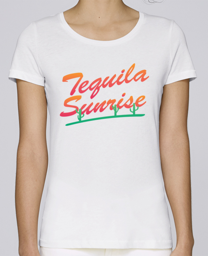 T-shirt Women Stella Loves Tequila Sunrise by tunetoo