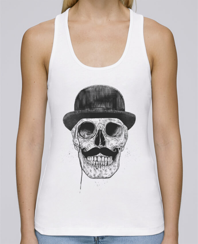 Tank Top Women Stella Dreams Organic Gentleman never die by Balàzs Solti en coton Bio