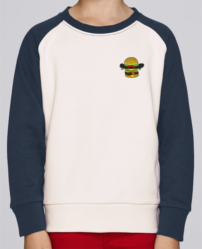 Sweat petite fille Skateburger by Salade