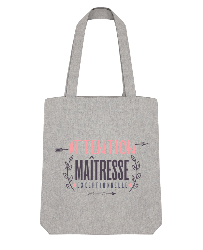 Tote Bag Stanley Stella Attention maîtresse exceptionnelle by tunetoo