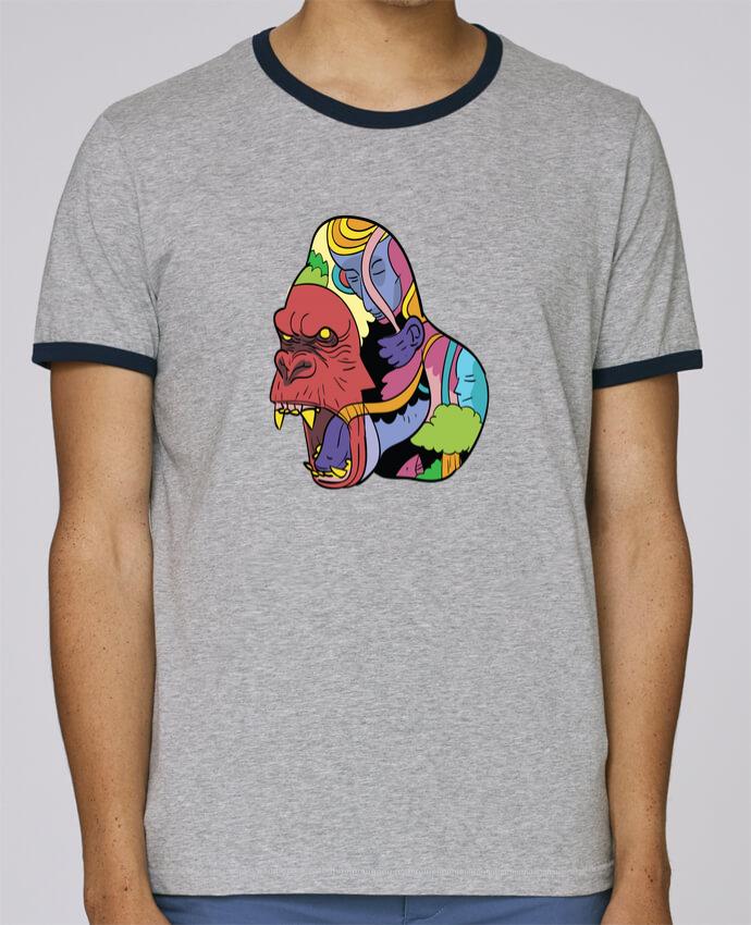 Stanley Contrasting Ringer T-Shirt Holds wrathofnature pour femme by Arya Mularama