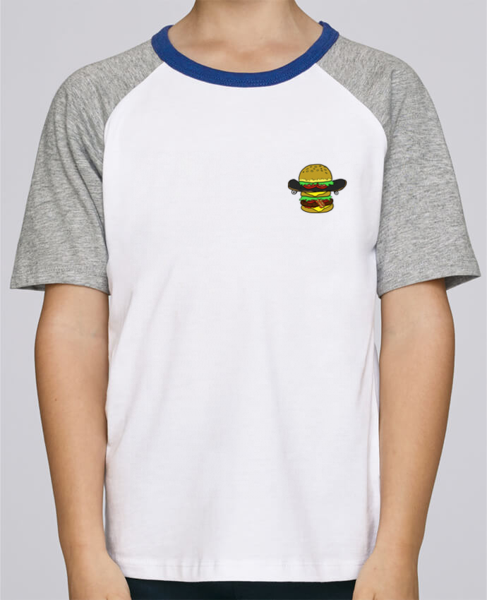 Tee-Shirt Child Short Sleeve Stanley Mini Jump Skateburger by Salade