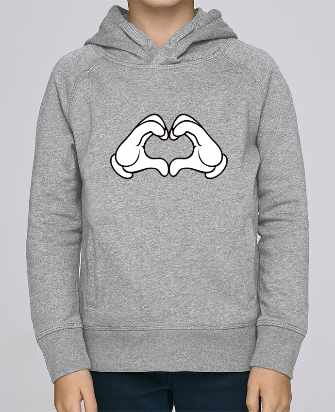 Hoodie Kids Stanley Mini Base LOVE Signe by Freeyourshirt.com