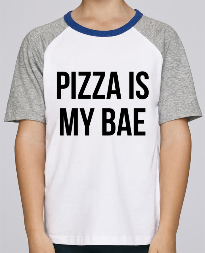 Tee-Shirt Child Short Sleeve Stanley Mini Jump Pizza is my BAE by Bichette