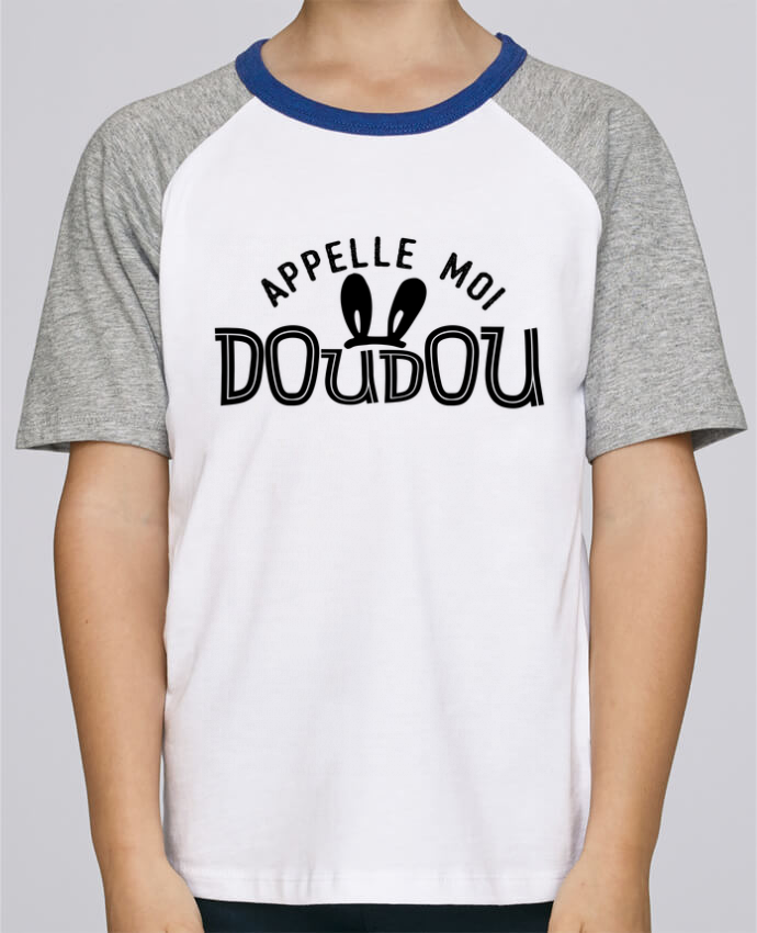 Tee-Shirt Child Short Sleeve Stanley Mini Jump Appelle moi doudou by tunetoo