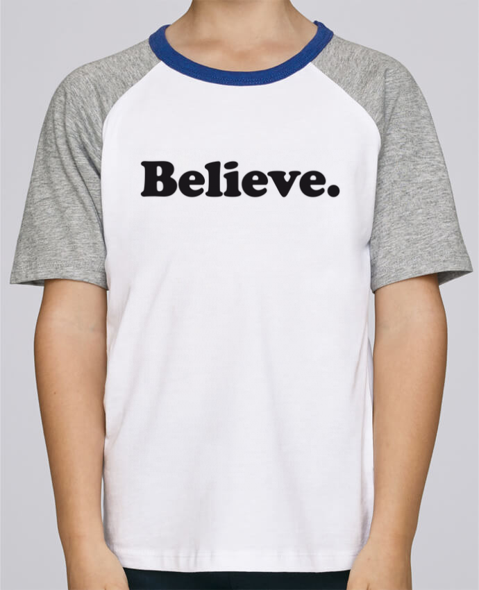 Tee-Shirt Child Short Sleeve Stanley Mini Jump Believe by justsayin