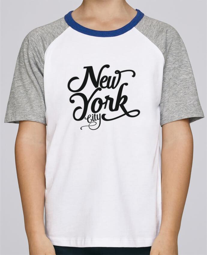 Tee-Shirt Child Short Sleeve Stanley Mini Jump New York City by justsayin