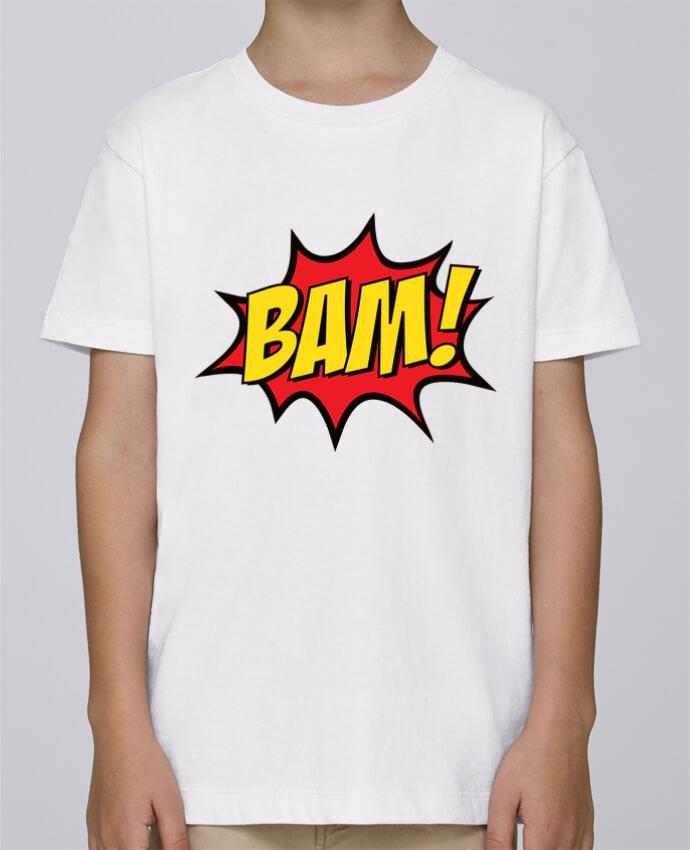 Tee Shirt Boy Stanley Mini Paint BAM ! by Freeyourshirt.com