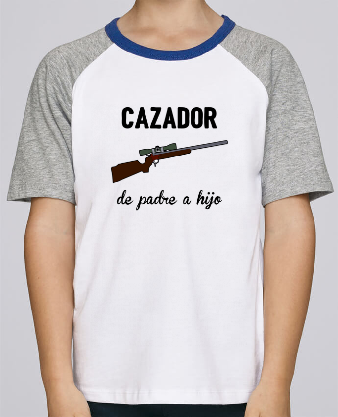 Tee-Shirt Child Short Sleeve Stanley Mini Jump Cazador de padre a hijo by tunetoo