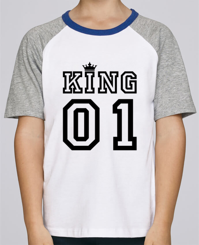 Tee-Shirt Child Short Sleeve Stanley Mini Jump King 01 by tunetoo