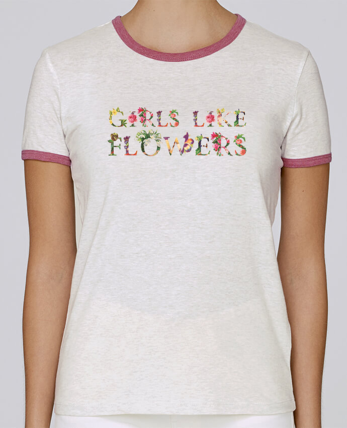 T-shirt Women Stella Returns Girls like flowers pour femme by tunetoo