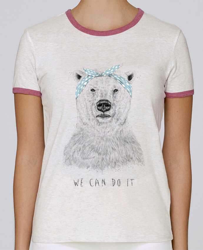 T-shirt Women Stella Returns we_can_do_it pour femme by Balàzs Solti