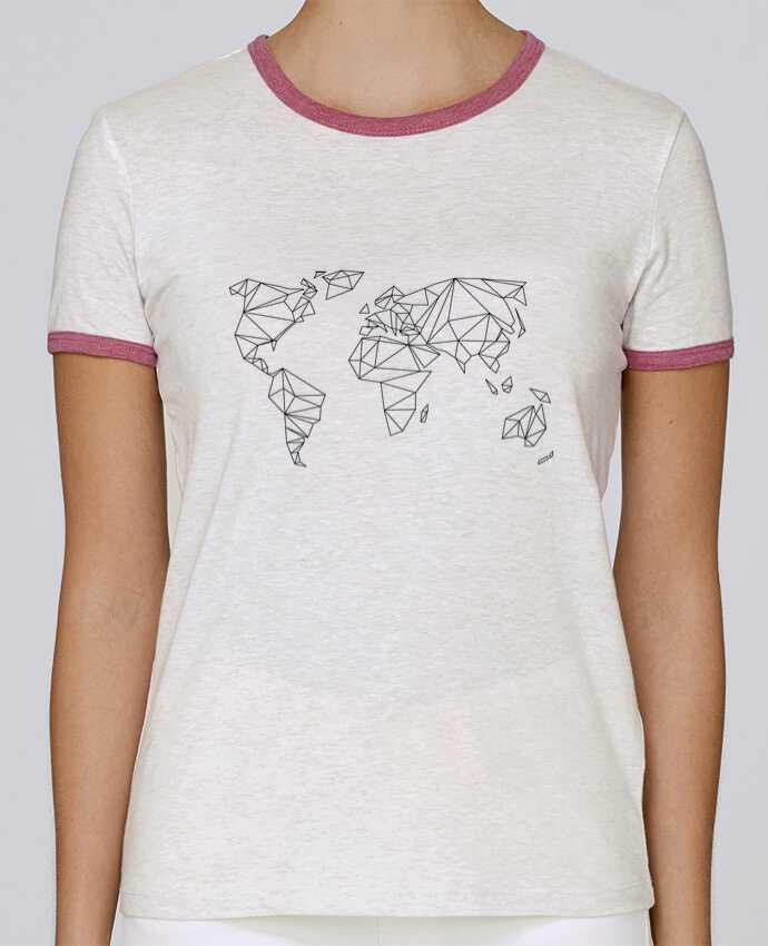 T-shirt Women Stella Returns Geometrical World pour femme by na.hili