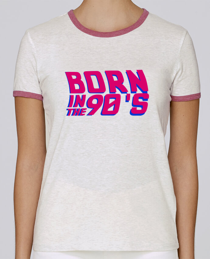 T-shirt Women Stella Returns Born in the 90's pour femme by tunetoo