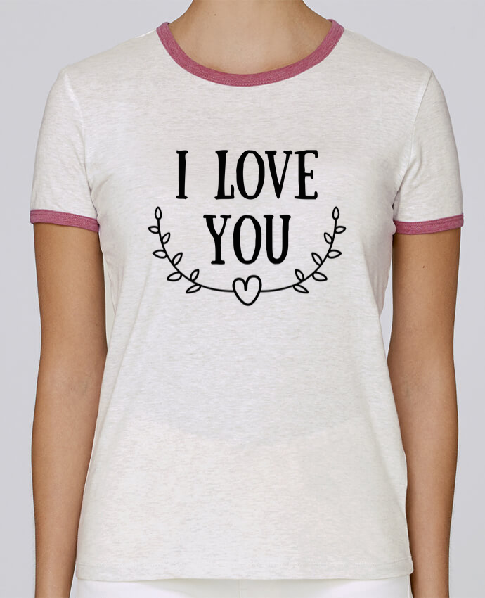 T-shirt Women Stella Returns I love you pour femme by tunetoo