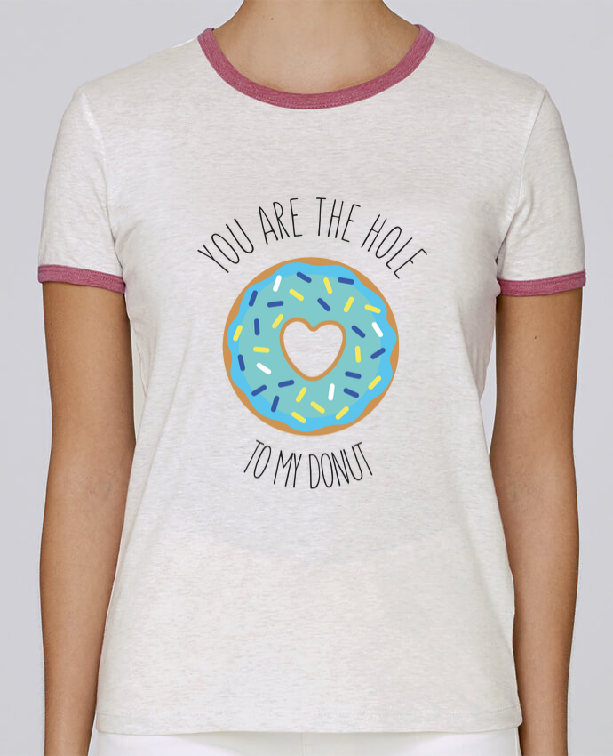 T-shirt Women Stella Returns Donut coeur pour femme by tunetoo