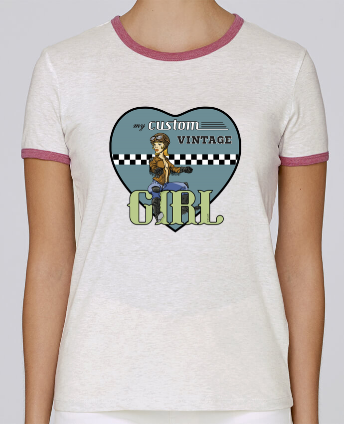 T-shirt Women Stella Returns My custom vintage girl pour femme by BRUZEFH