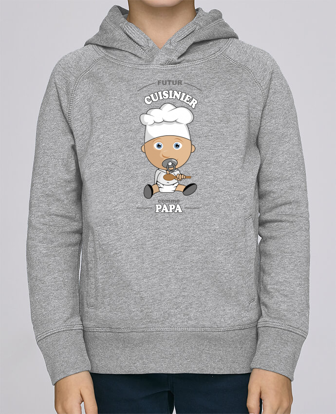 Hoodie Kids Stanley Mini Base Futur cuisinier comme papa by GraphiCK-Kids