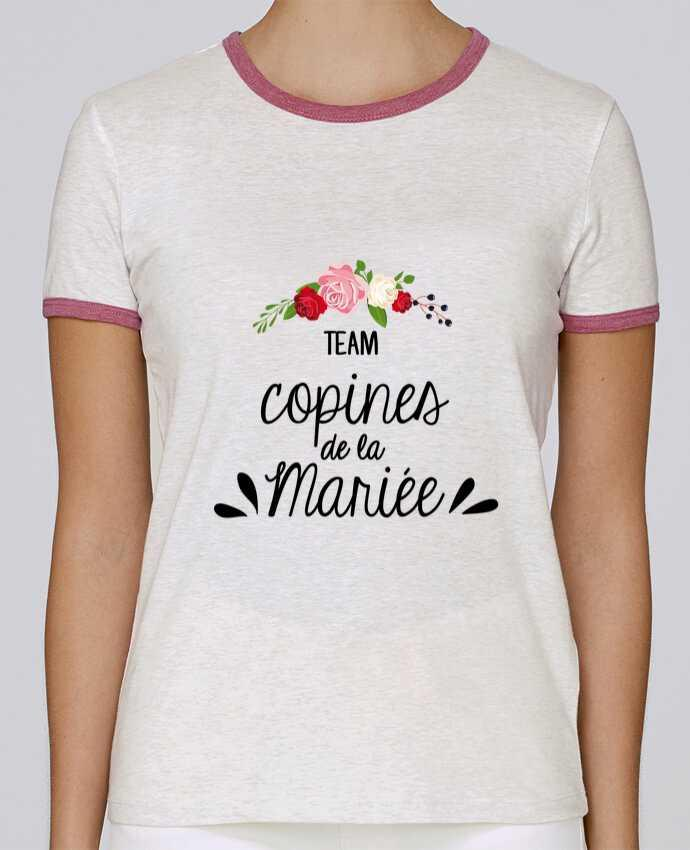 T-shirt Women Stella Returns TEAM COPINES DE LA MARIEE pour femme by FRENCHUP-MAYO