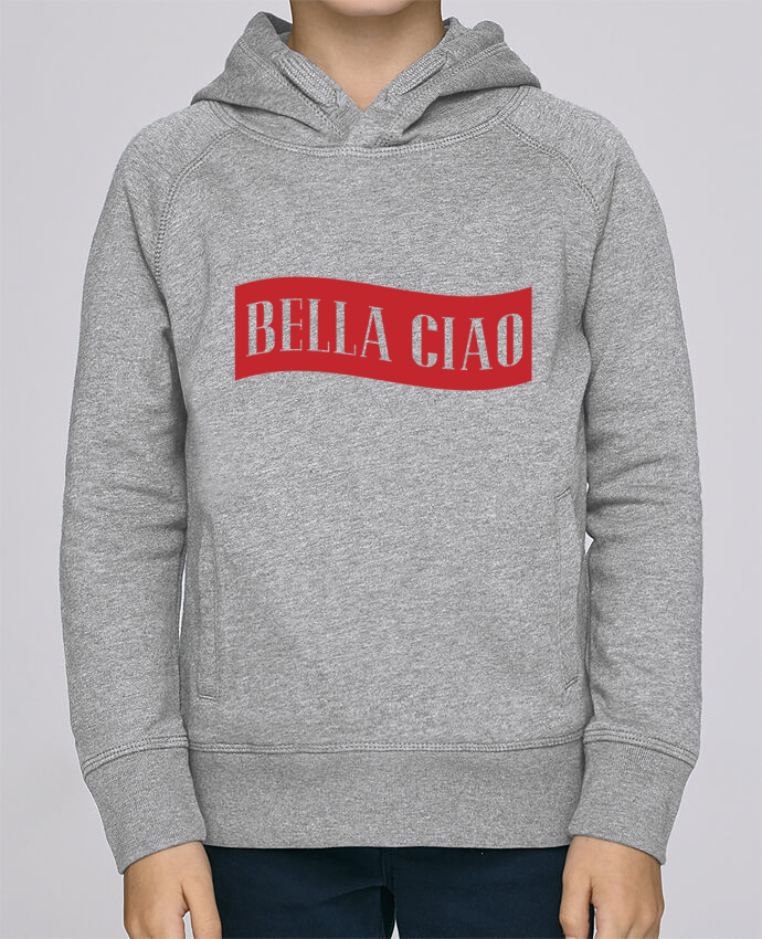 Hoodie Kids Stanley Mini Base BELLA CIAO by tunetoo