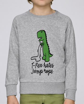 Sweatshirt Kids round neck Stanley Mini Scouts TREX HATES JUMP ROPE by LaundryFactory