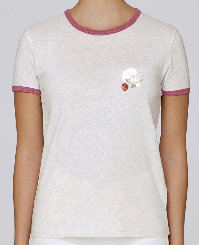 T-shirt Women Stella Returns Skull flower pour femme by Ruuud