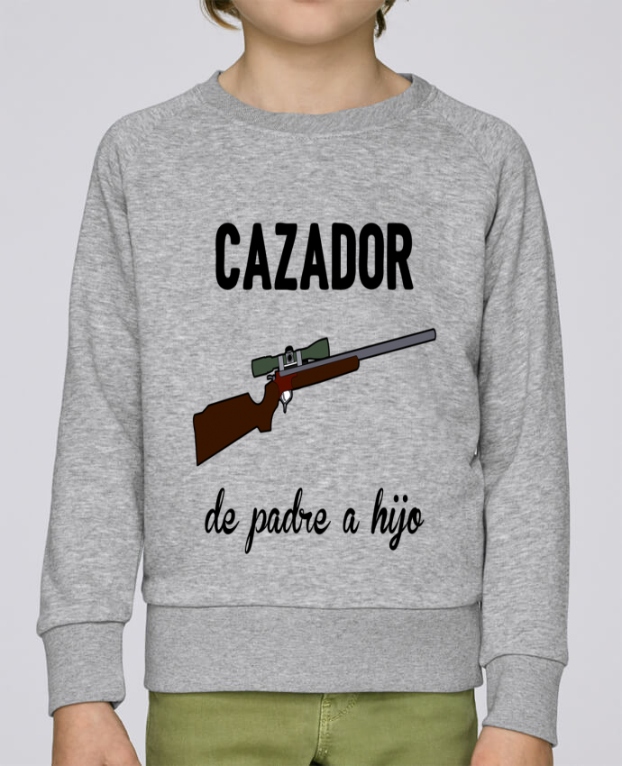 Sweatshirt Kids round neck Stanley Mini Scouts Cazador de padre a hijo by tunetoo