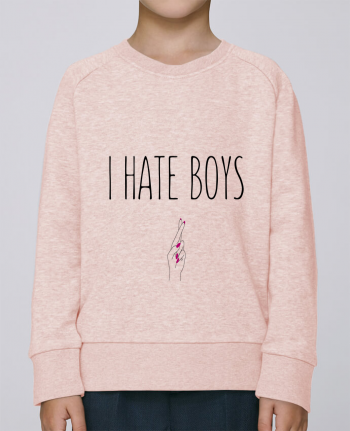 Sweatshirt Kids round neck Stanley Mini Scouts I hate boys by tunetoo