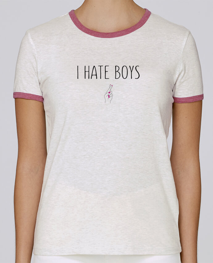 T-shirt Women Stella Returns I hate boys pour femme by tunetoo