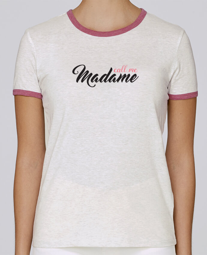 T-shirt Women Stella Returns Call me Madame pour femme by tunetoo