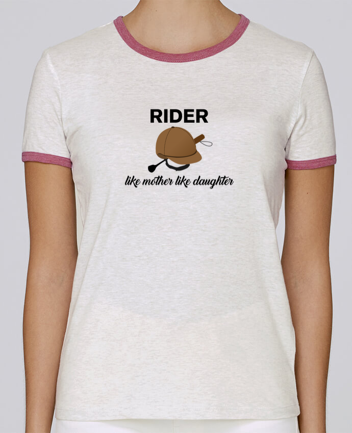 T-shirt Women Stella Returns Rider like mother like daughter pour femme by tunetoo