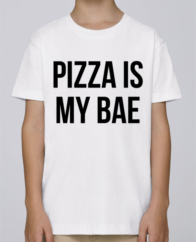 Tee Shirt Boy Stanley Mini Paint Pizza is my BAE by Bichette