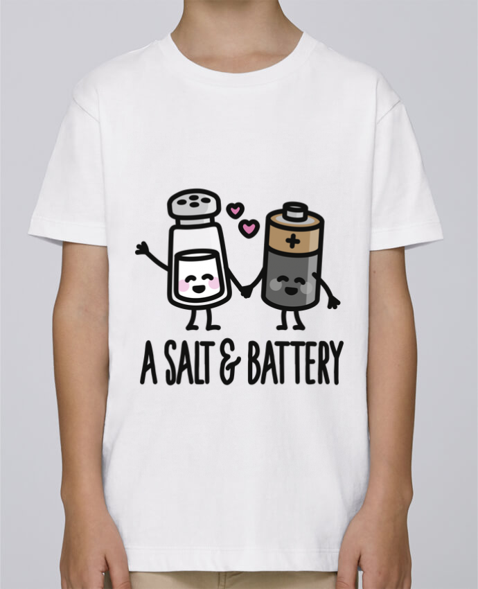 Tee Shirt Boy Stanley Mini Paint A salt and battery by LaundryFactory