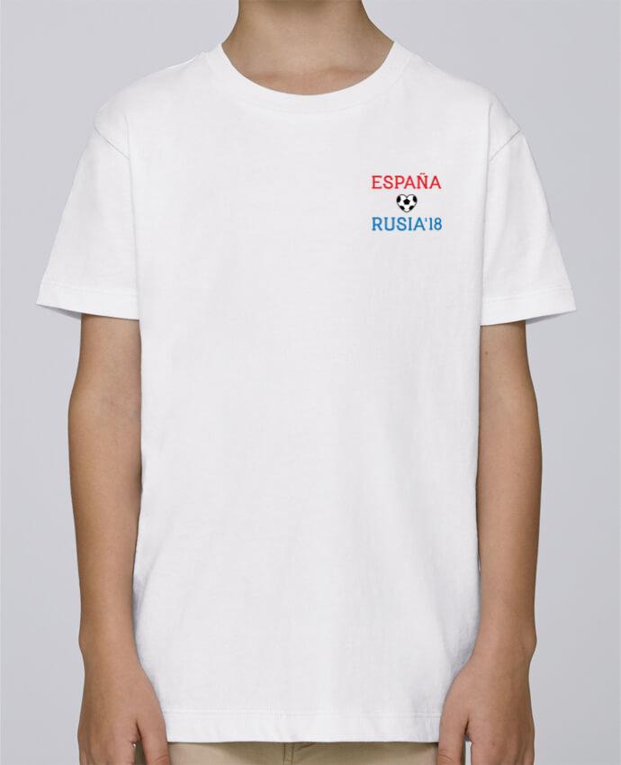 Tee Shirt Boy Stanley Mini Paint España Rusia 2018 by tunetoo