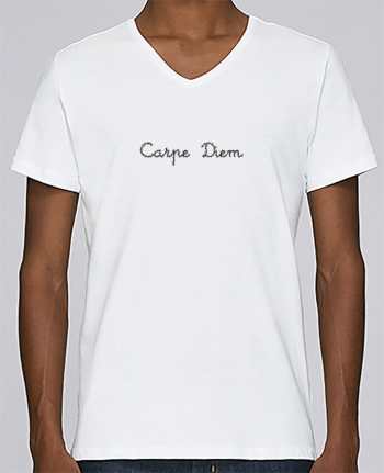 T-shirt V-neck Men Stanley Relaxes Carpe Diem by Les Caprices de Filles