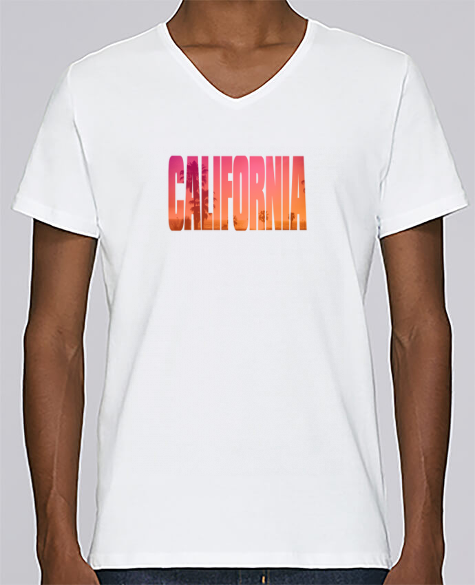 T-shirt V-neck Men Stanley Relaxes California by justsayin
