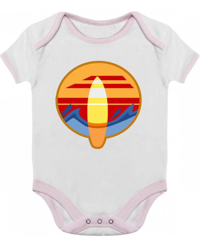 Baby Body Contrast Logo Surf by Tomi Ax