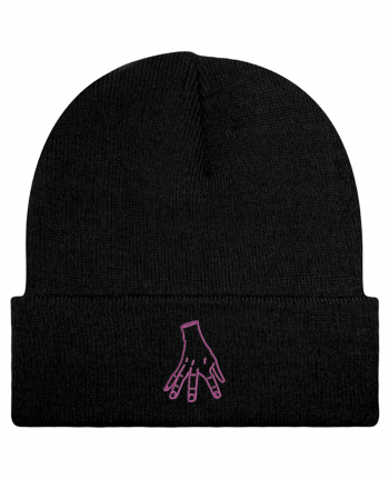 Reversible Beanie Main Famille Adams by tunetoo