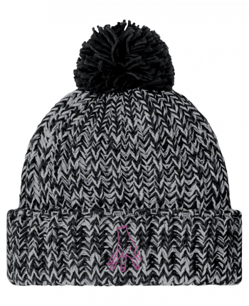 Bonnet pompon twist Main Famille Adams by tunetoo