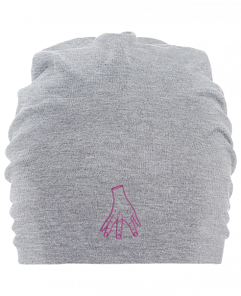 Hemsedal oversized cotton beanie Main Famille Adams by tunetoo