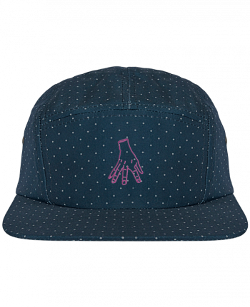 5 Panel Cap dot pattern Main Famille Adams by tunetoo