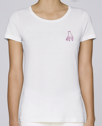 T-shirt  Femme Brodé Main Famille Adams by tunetoo